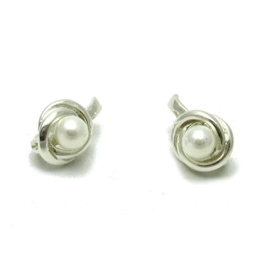 Silver earrings - E000549