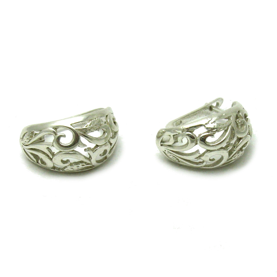 Silver earrings - E000554