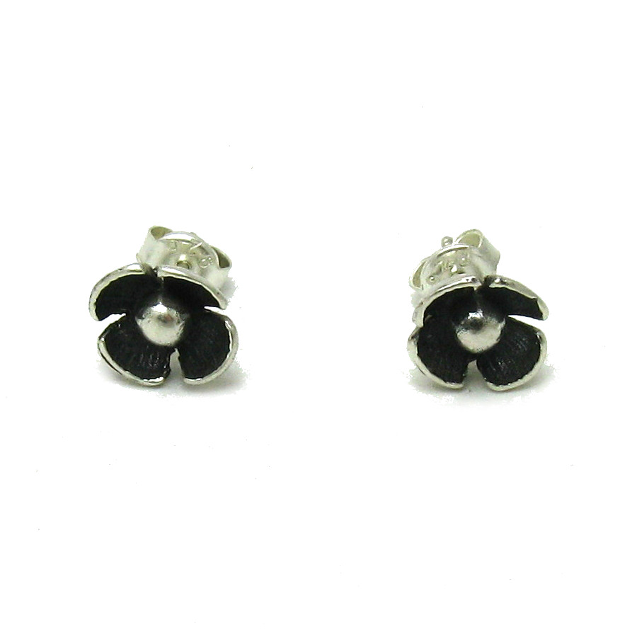 Silver earrings - E000556
