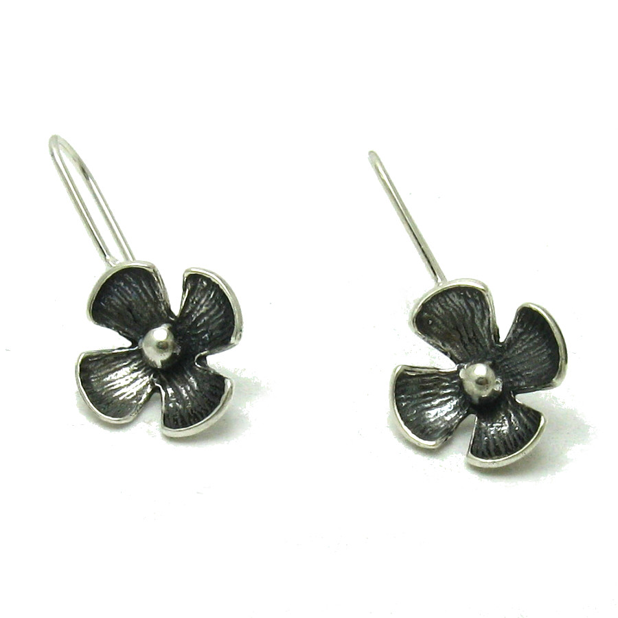 Silver earrings - E000558