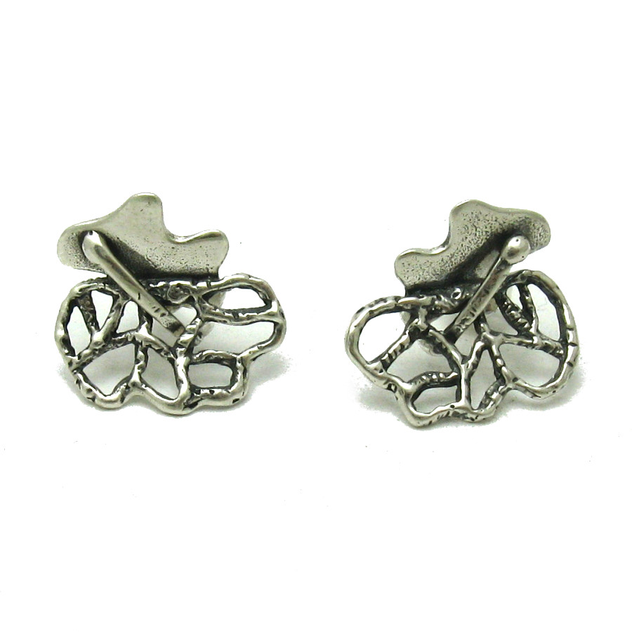 Silver earrings - E000563