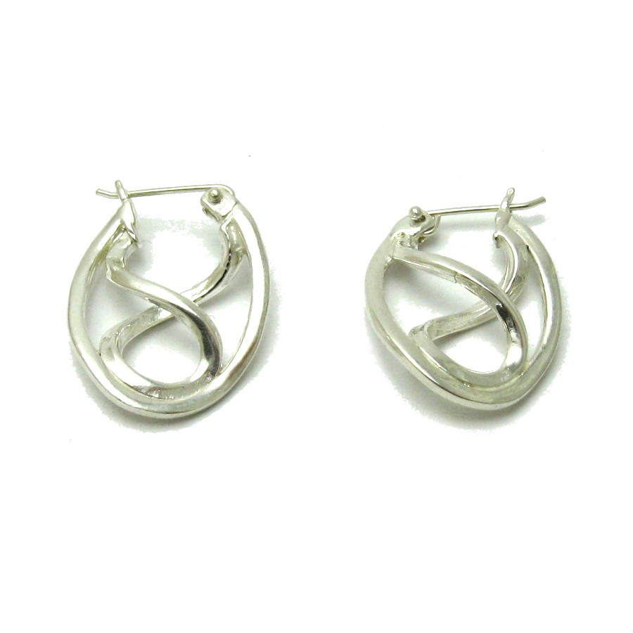 Silver earrings - E000572
