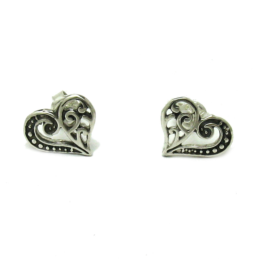 Silver earrings - E000574