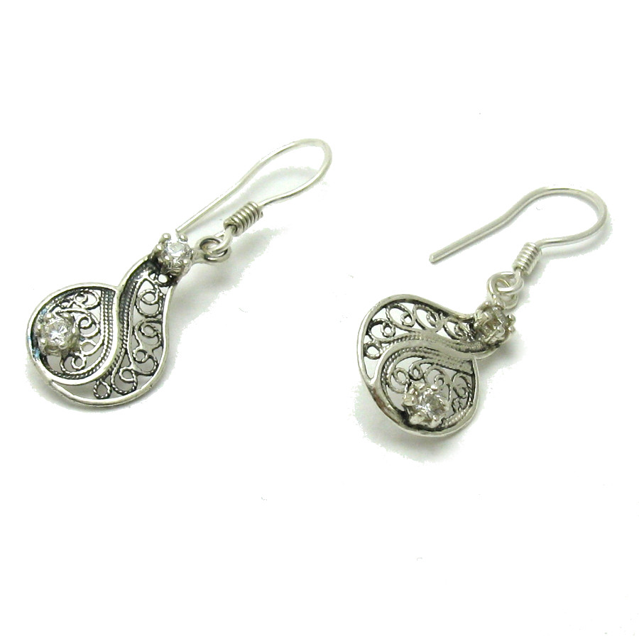 Silver earrings - E000576