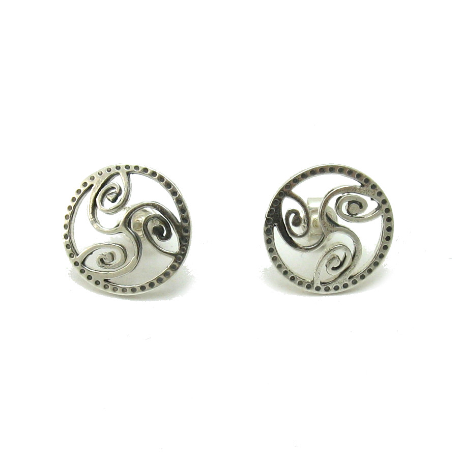 Silver earrings - E000577