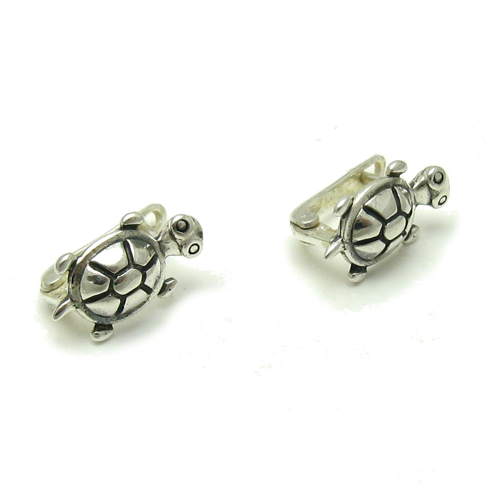 Silver earrings - E000579