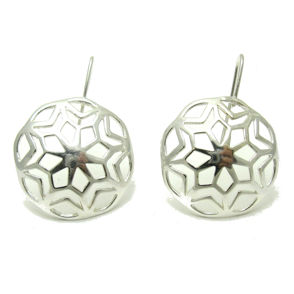 Silver earrings - E000580