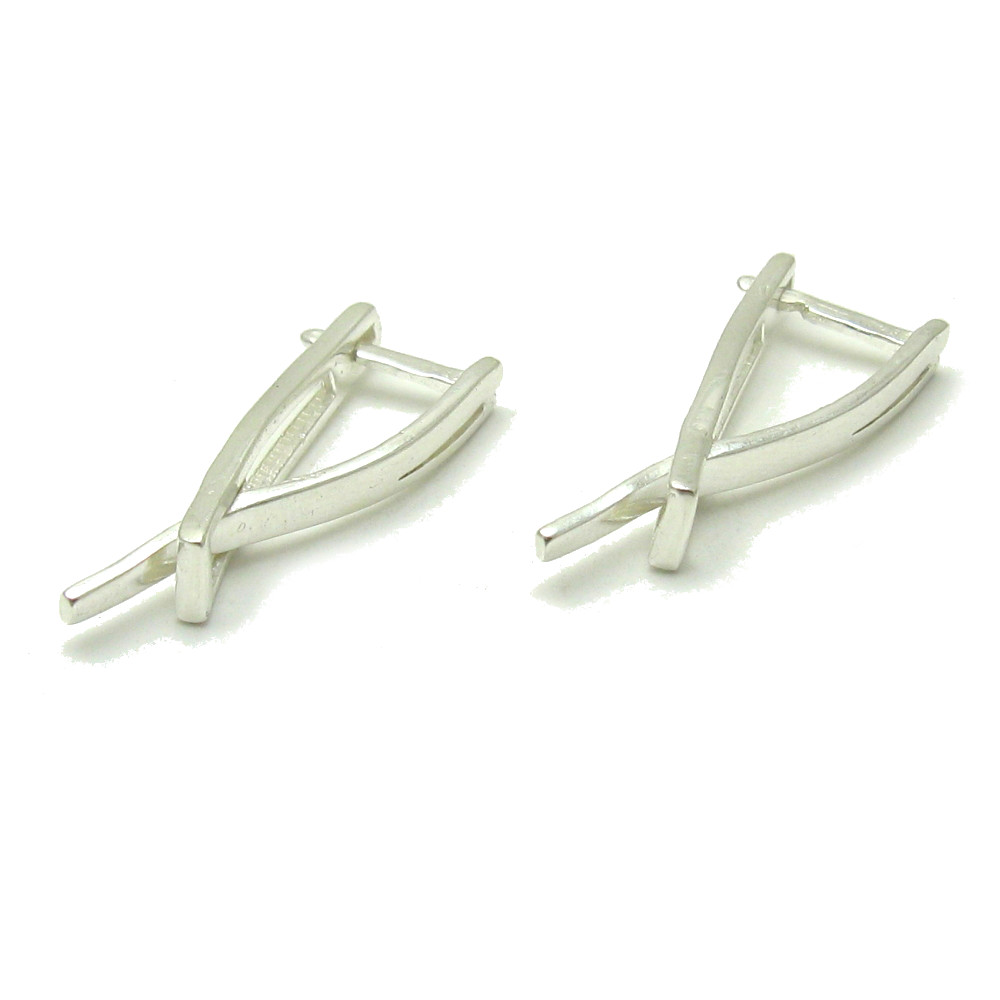 Silver earrings - E000584