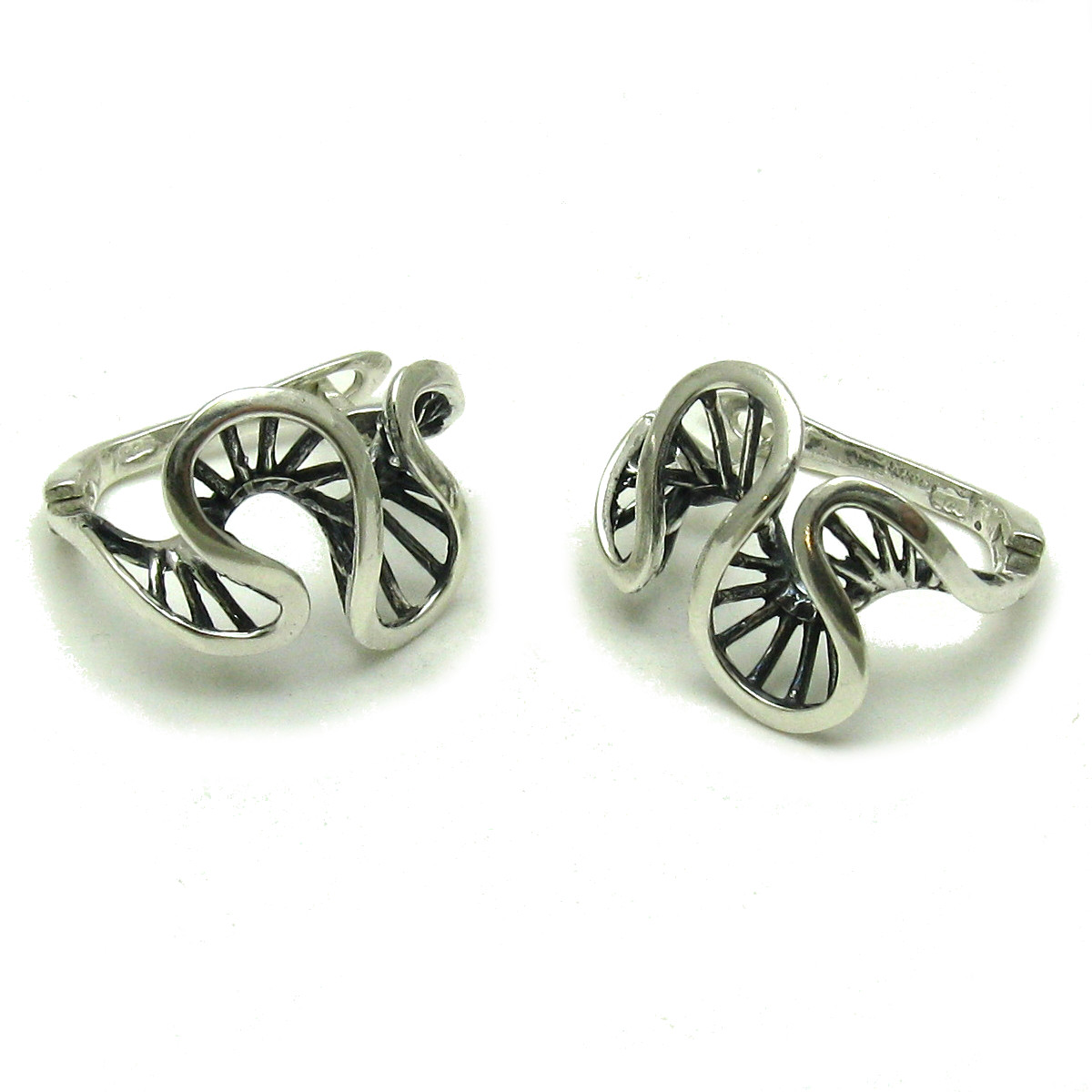 Silver earrings - E000591