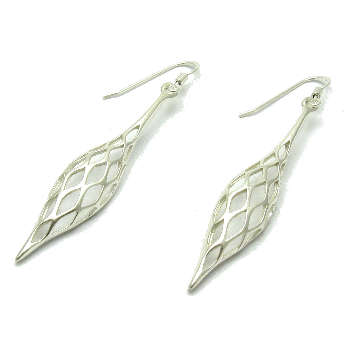 Silver earrings - E000594