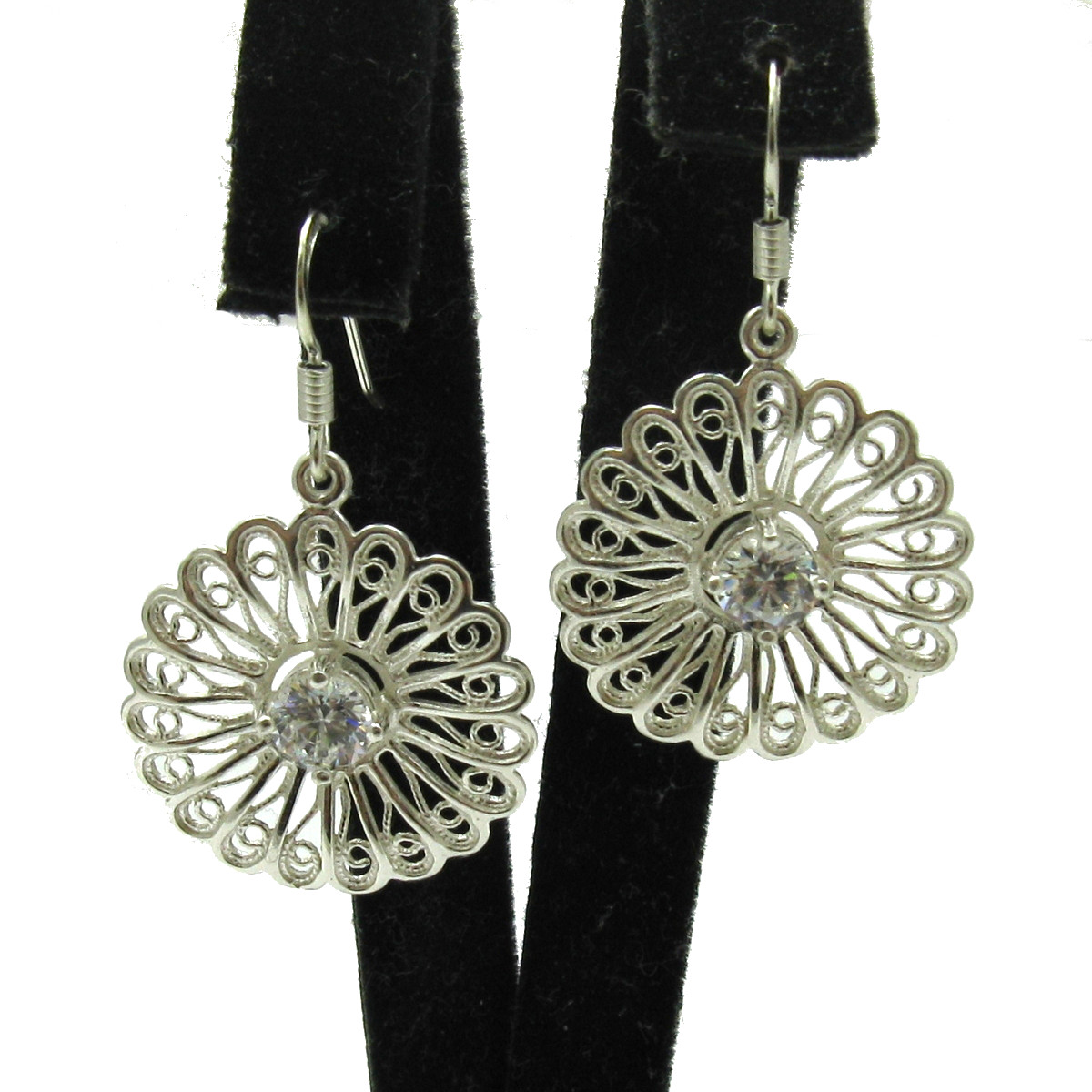 Silver earrings - E000597