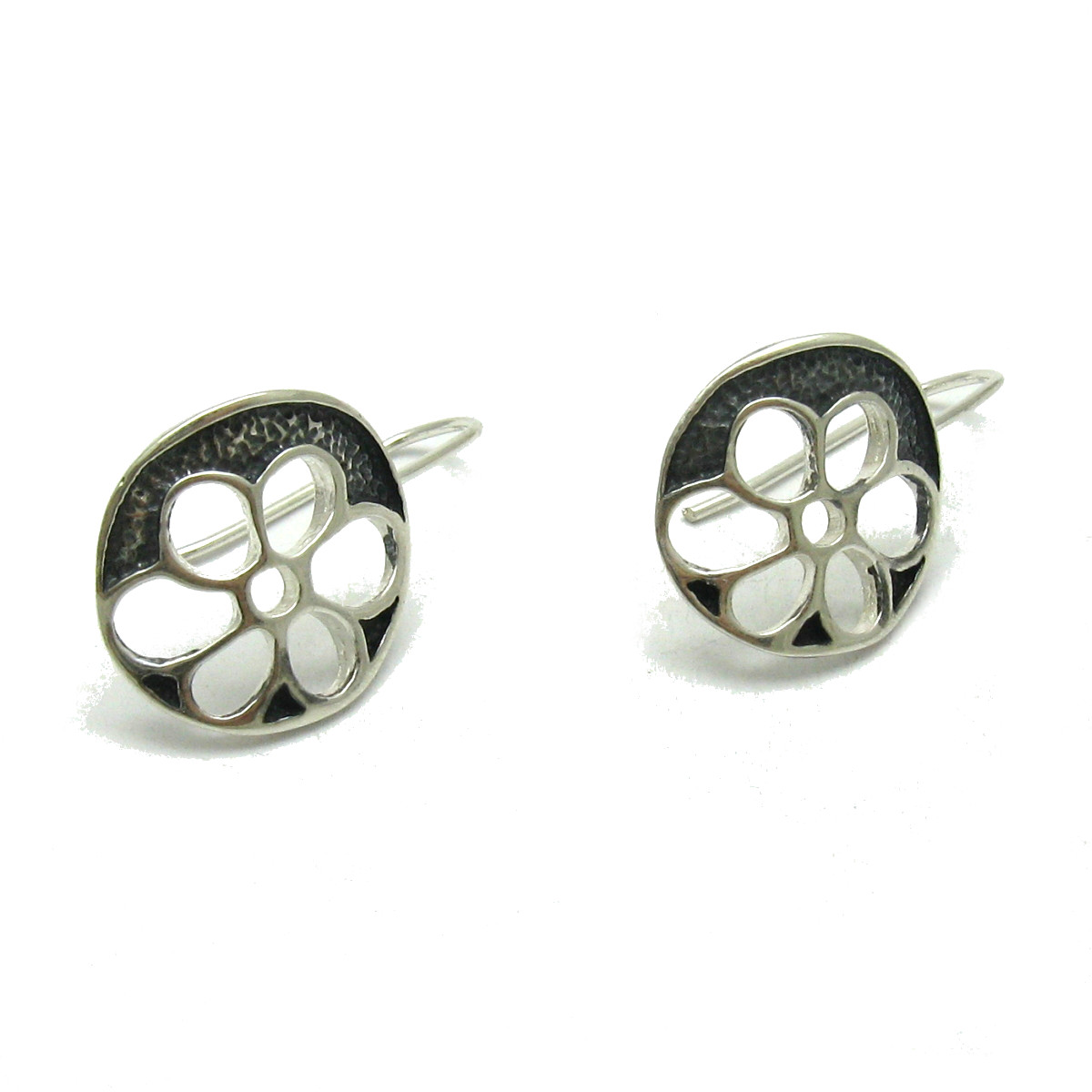 Silver earrings - E000599