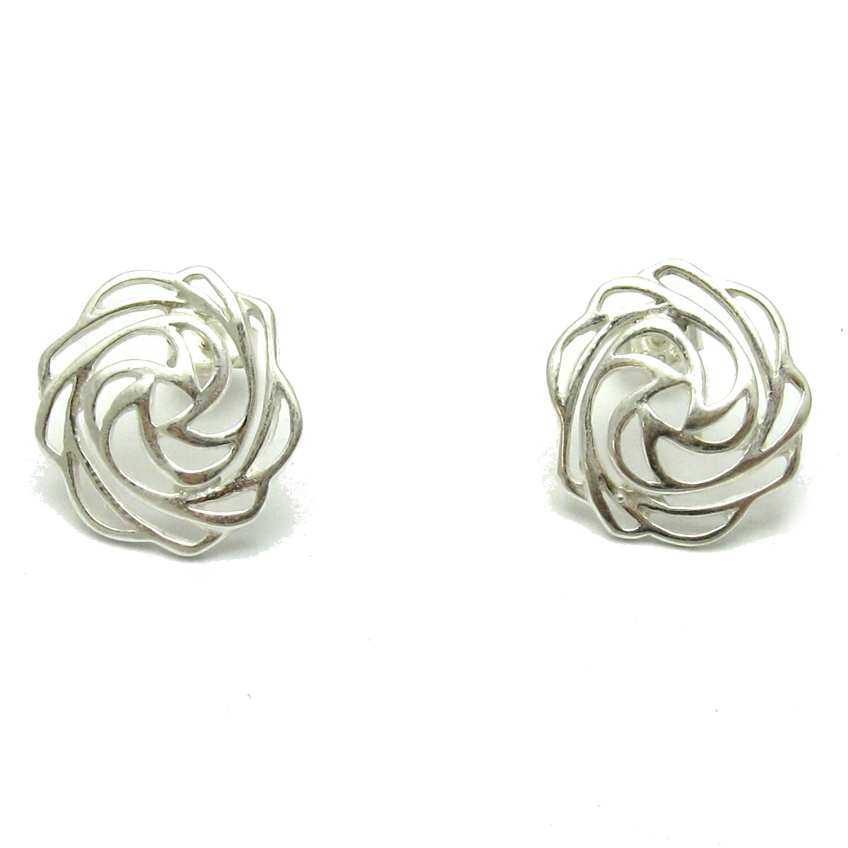 Silver earrings - E000600