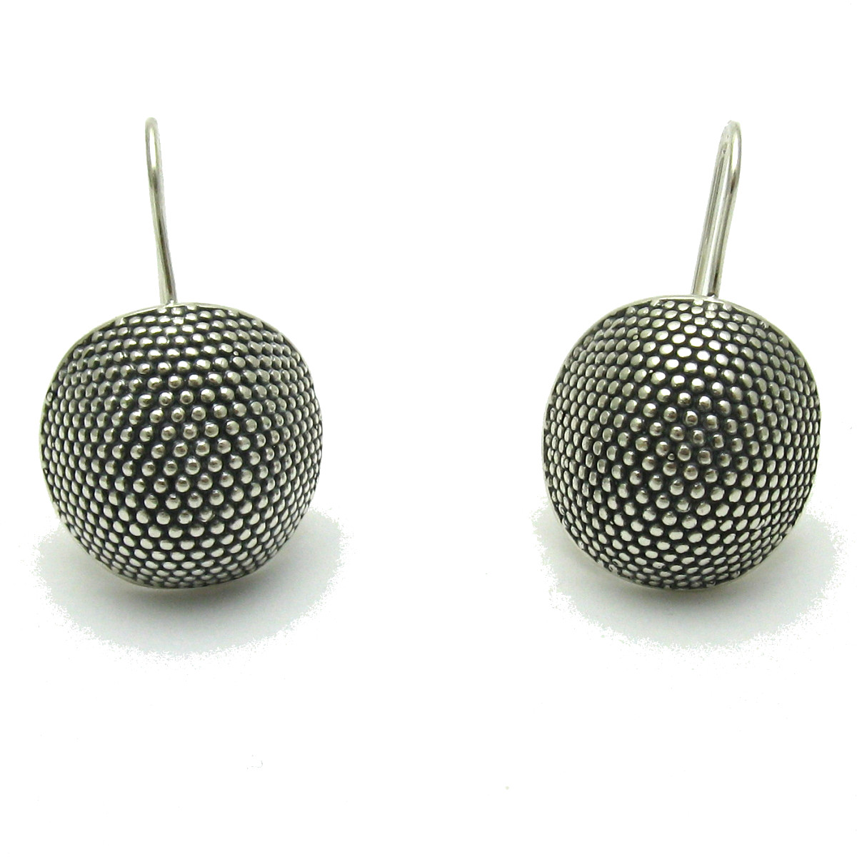 Silver earrings - E000601