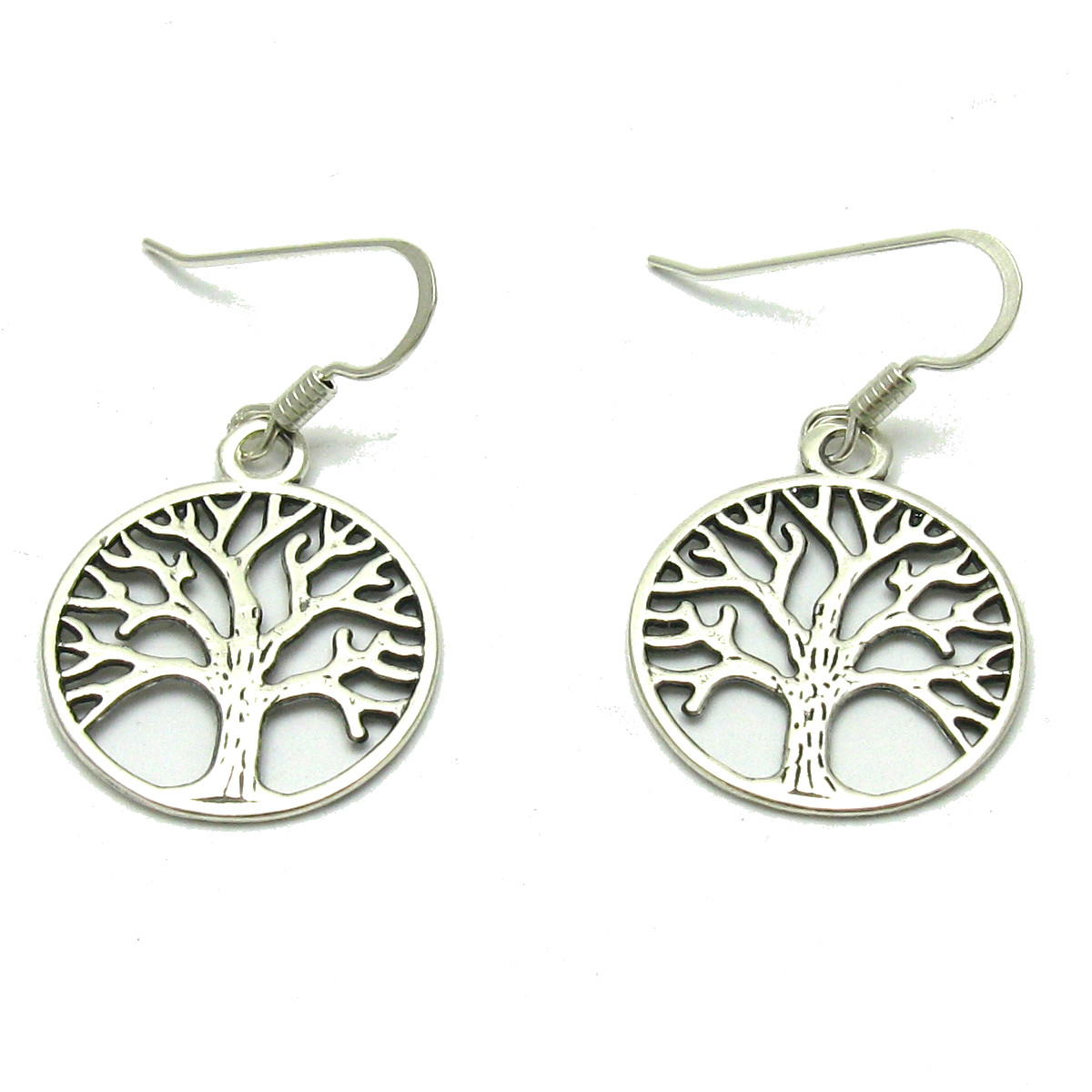 Silver earrings - E000602