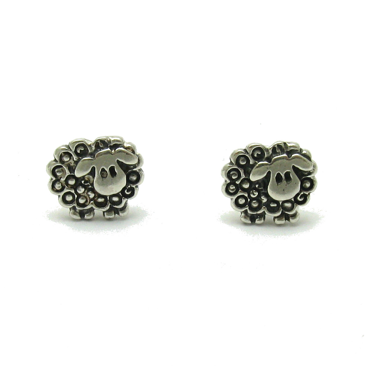 Silver earrings - E000608