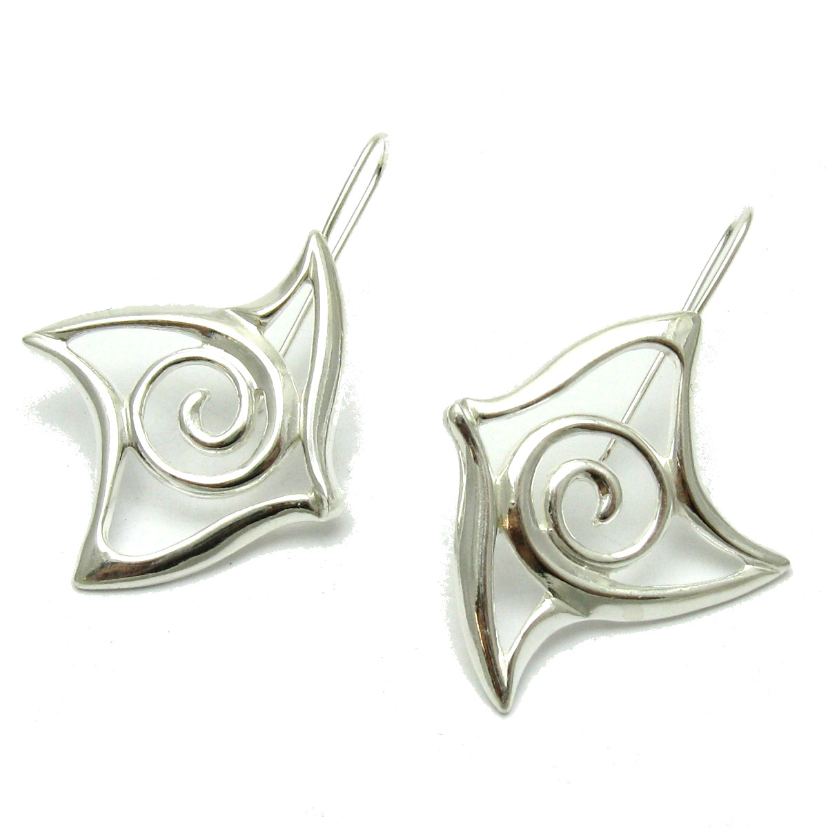 Silver earrings - E000609
