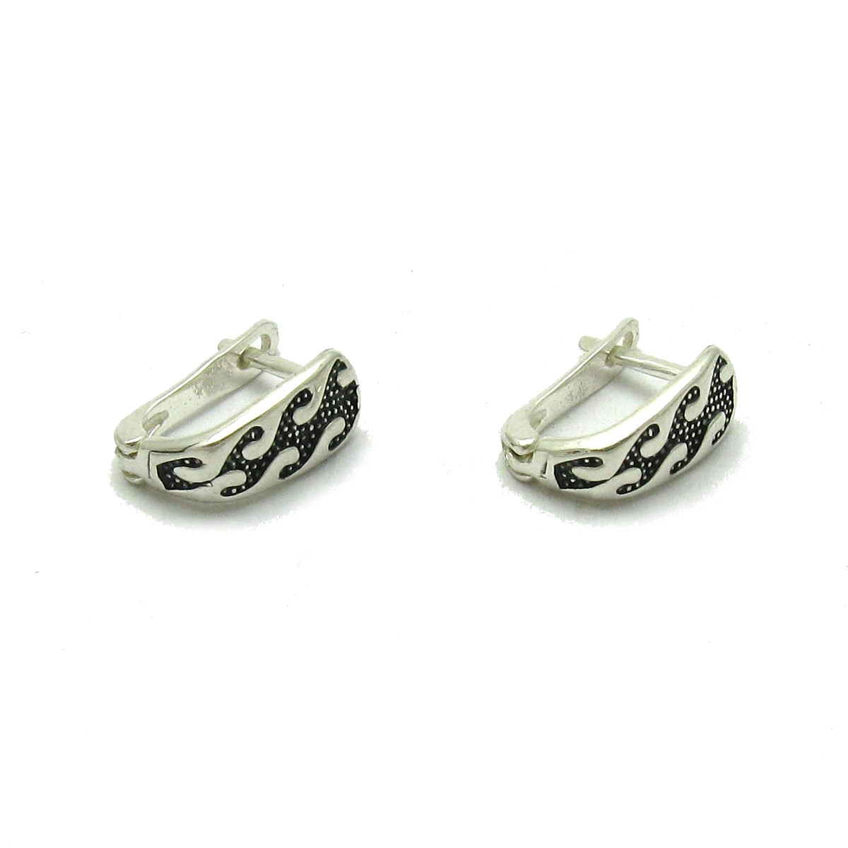 Silver earrings - E000619