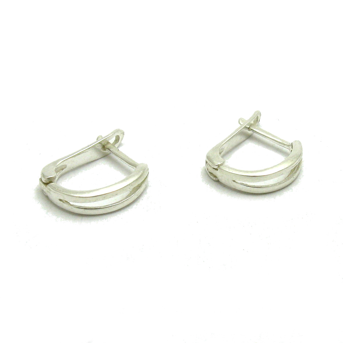 Silver earrings - E000625