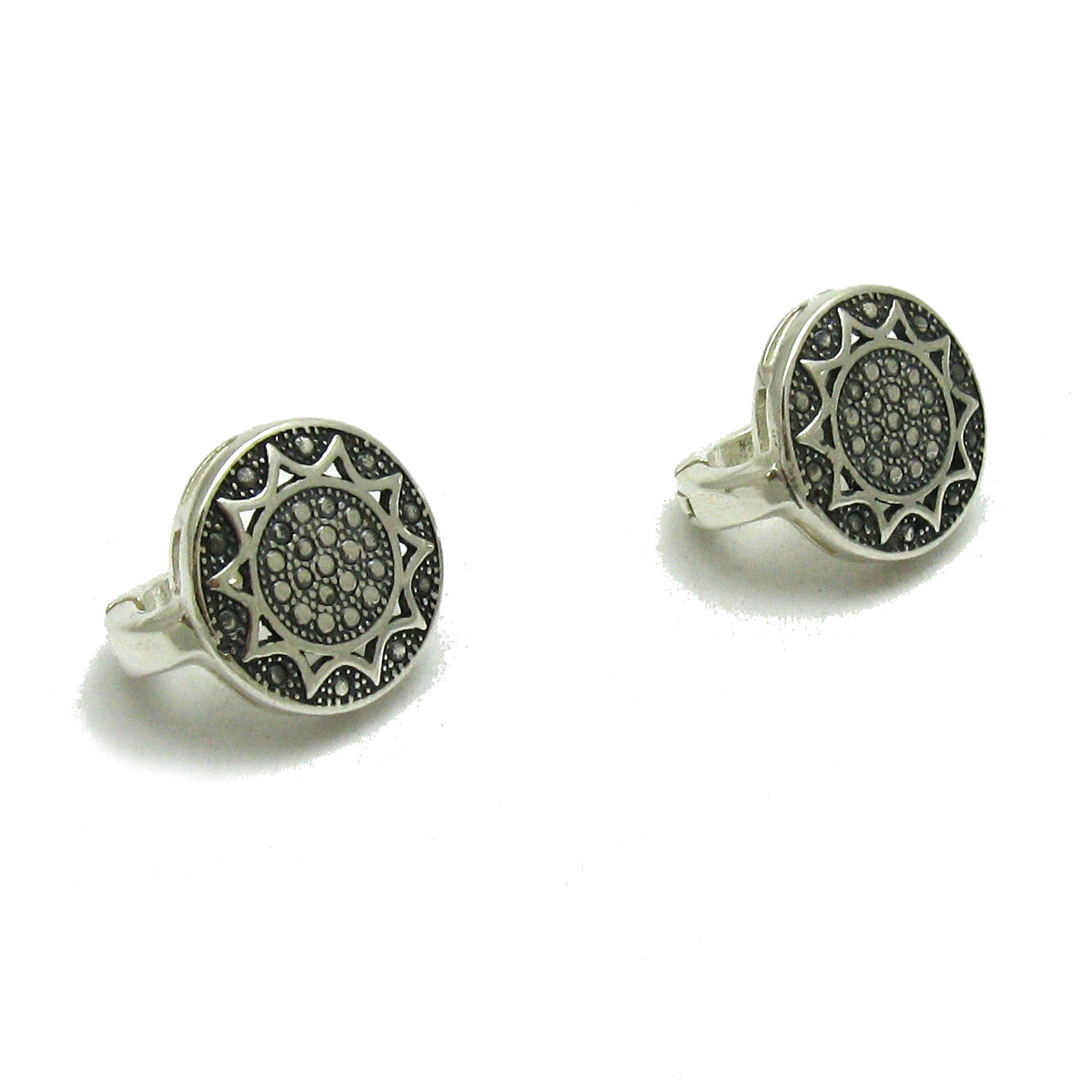 Silver earrings - E000628