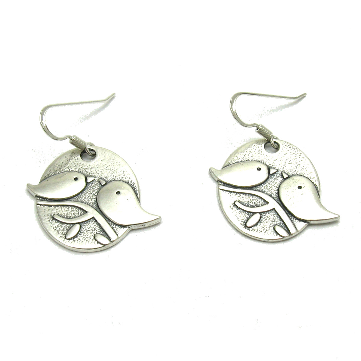 Silver earrings - E000630