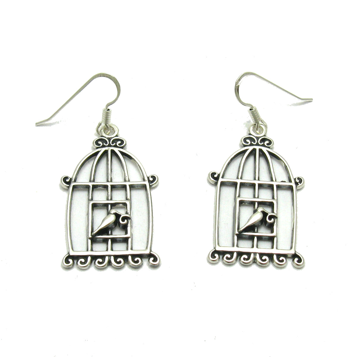 Silver earrings - E000631