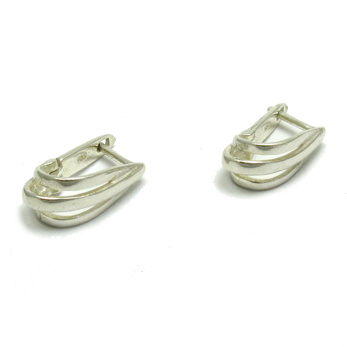 Silver earrings - E000640