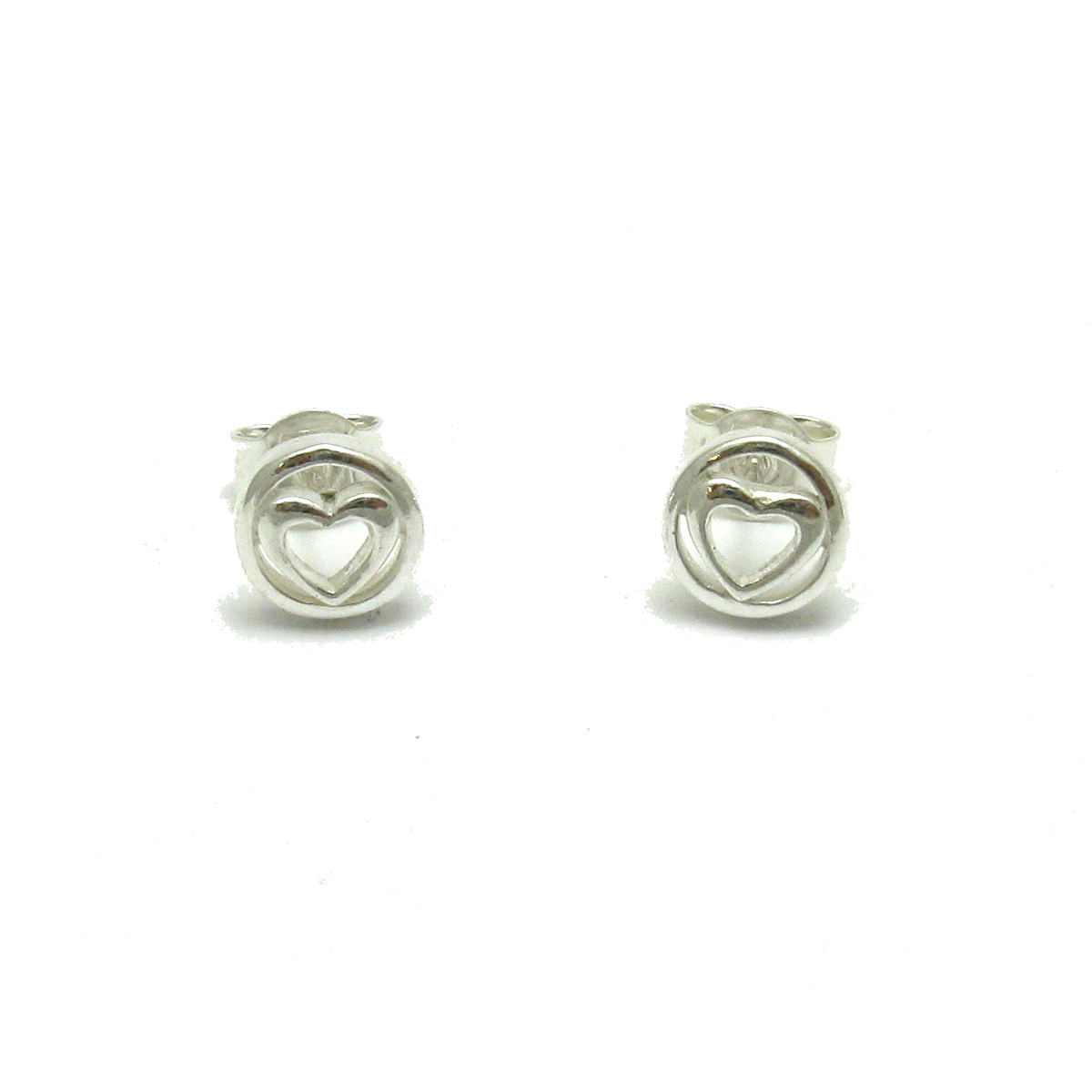Silver earrings - E000642