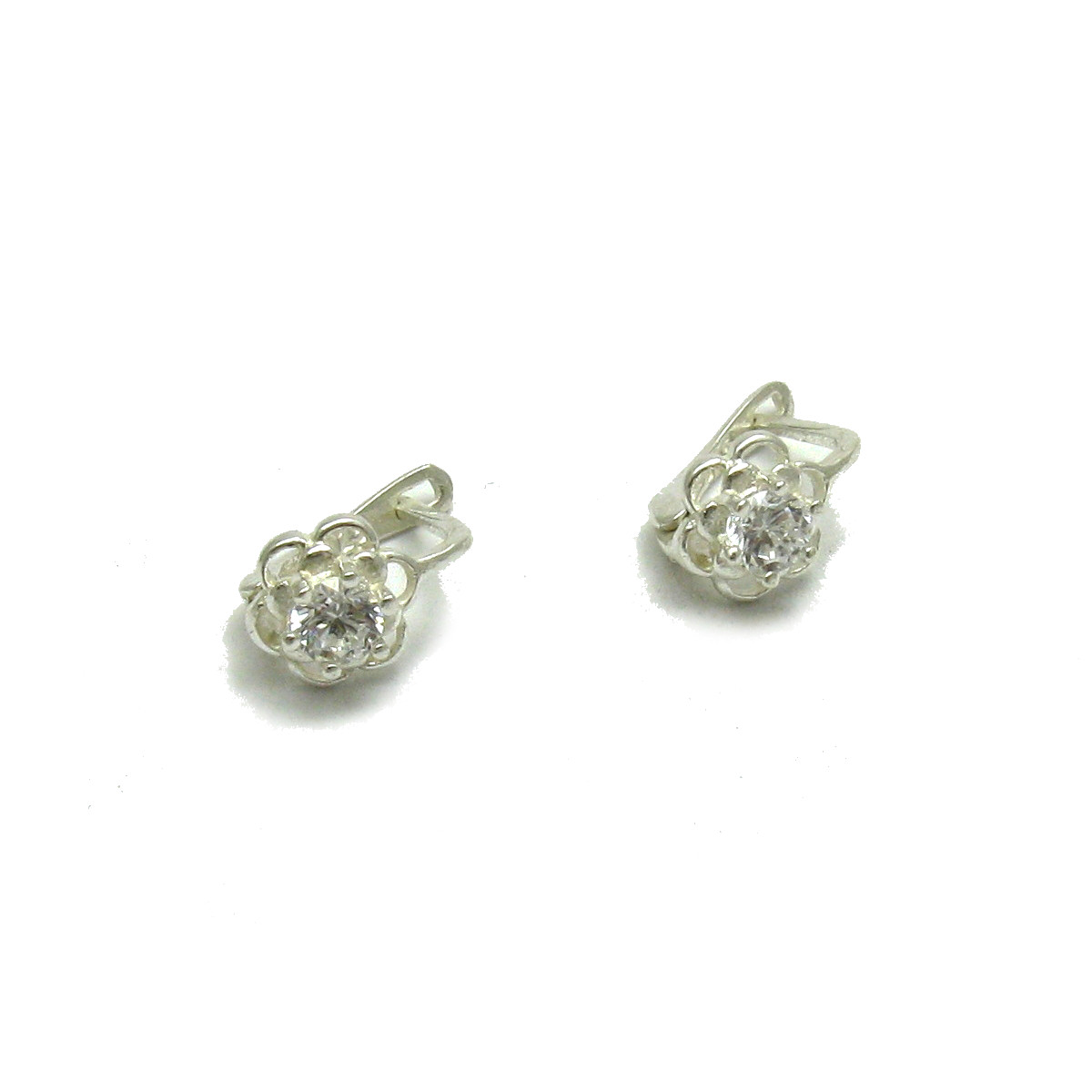 Silver earrings - E000652