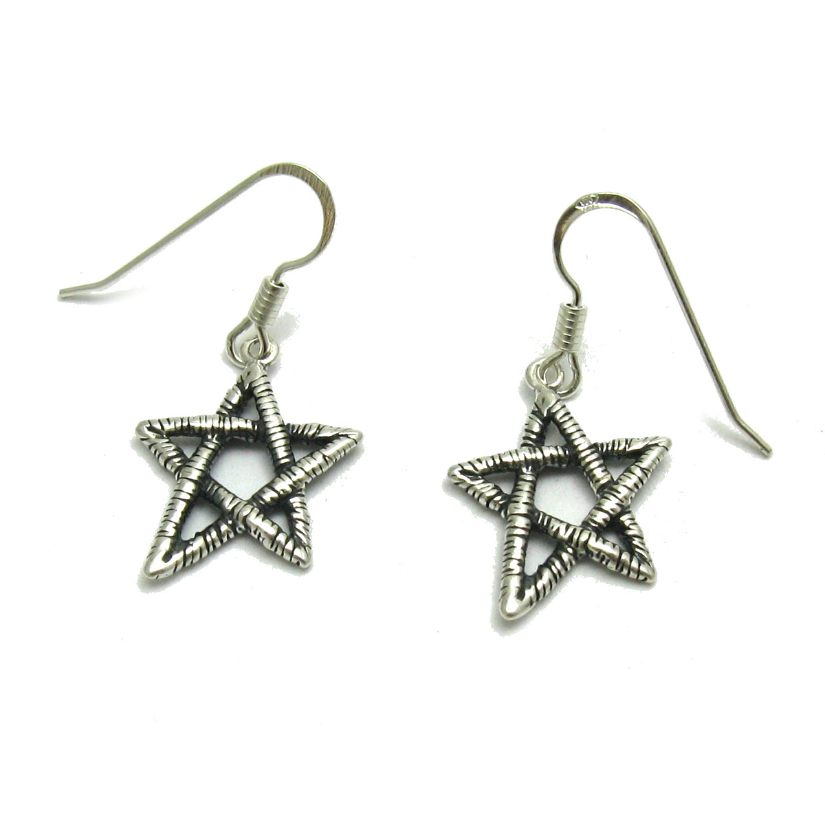 Silver earrings - E000655