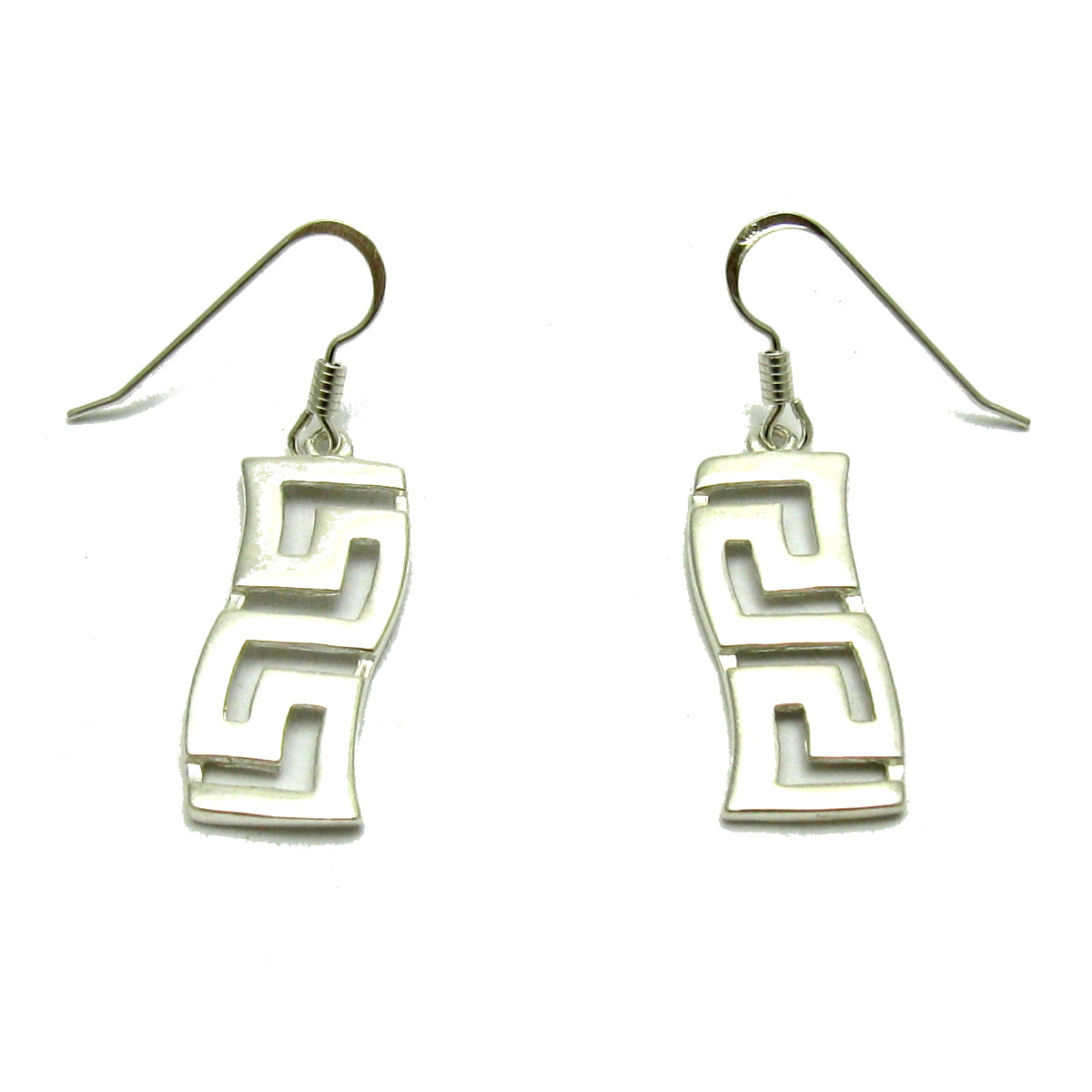 Silver earrings - E000656