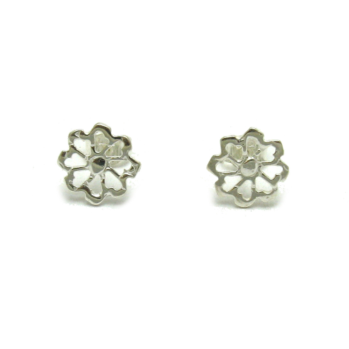 Silver earrings - E000661