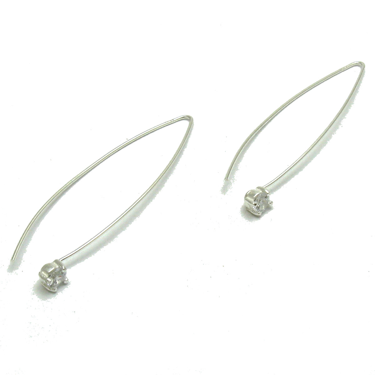 Silver earrings - E000663