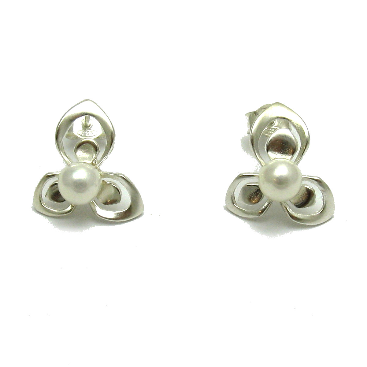 Silver earrings - E000672