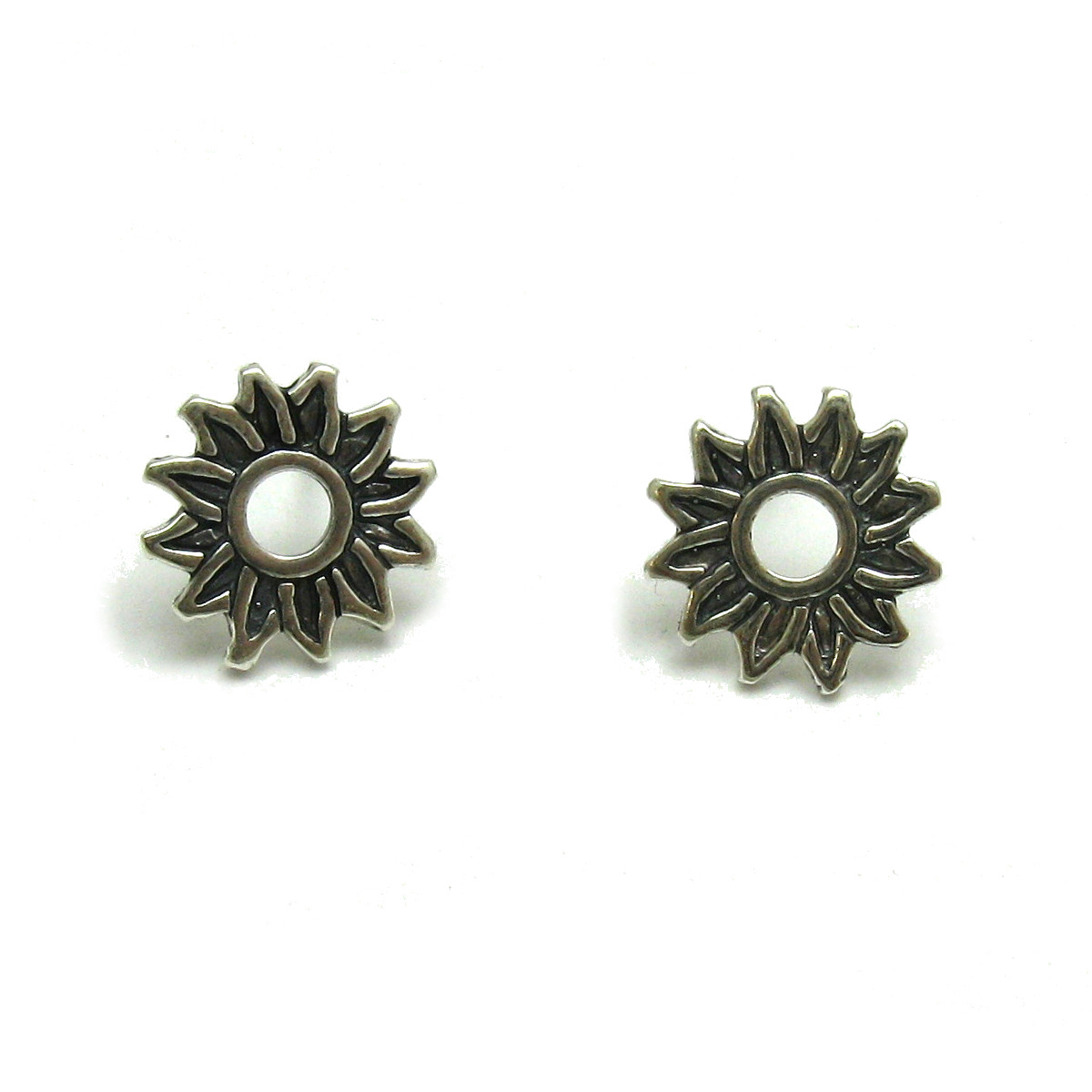 Silver earrings - E000674