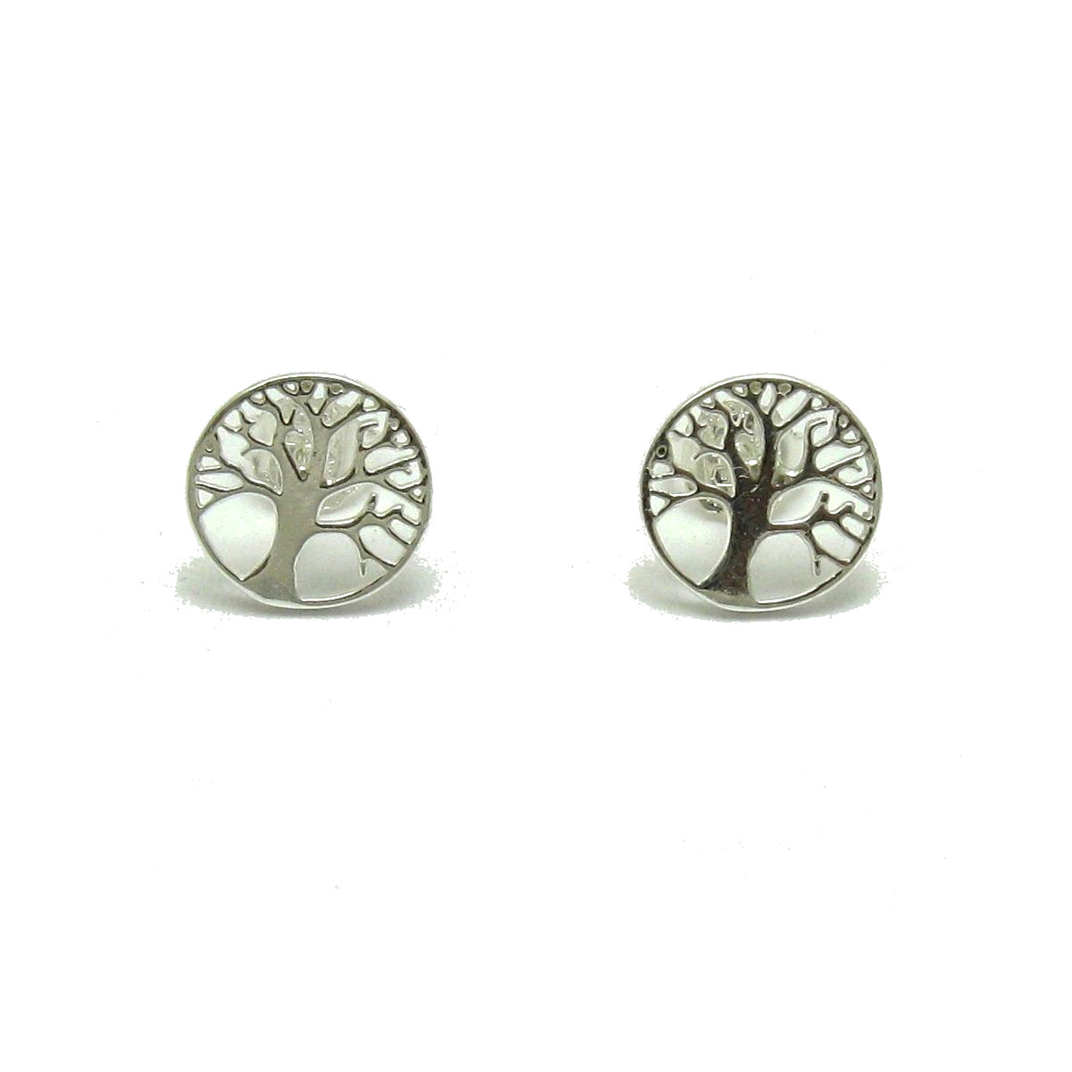 Silver earrings - E000681