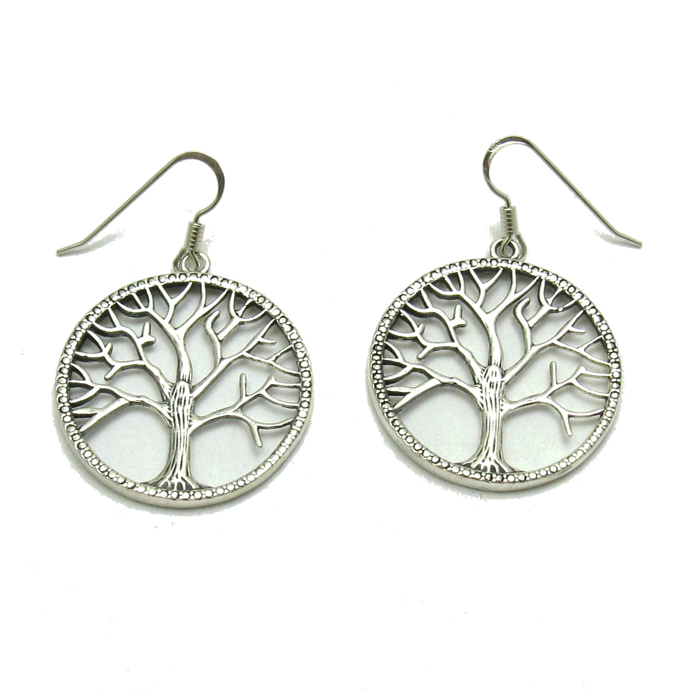 Silver earrings - E000686
