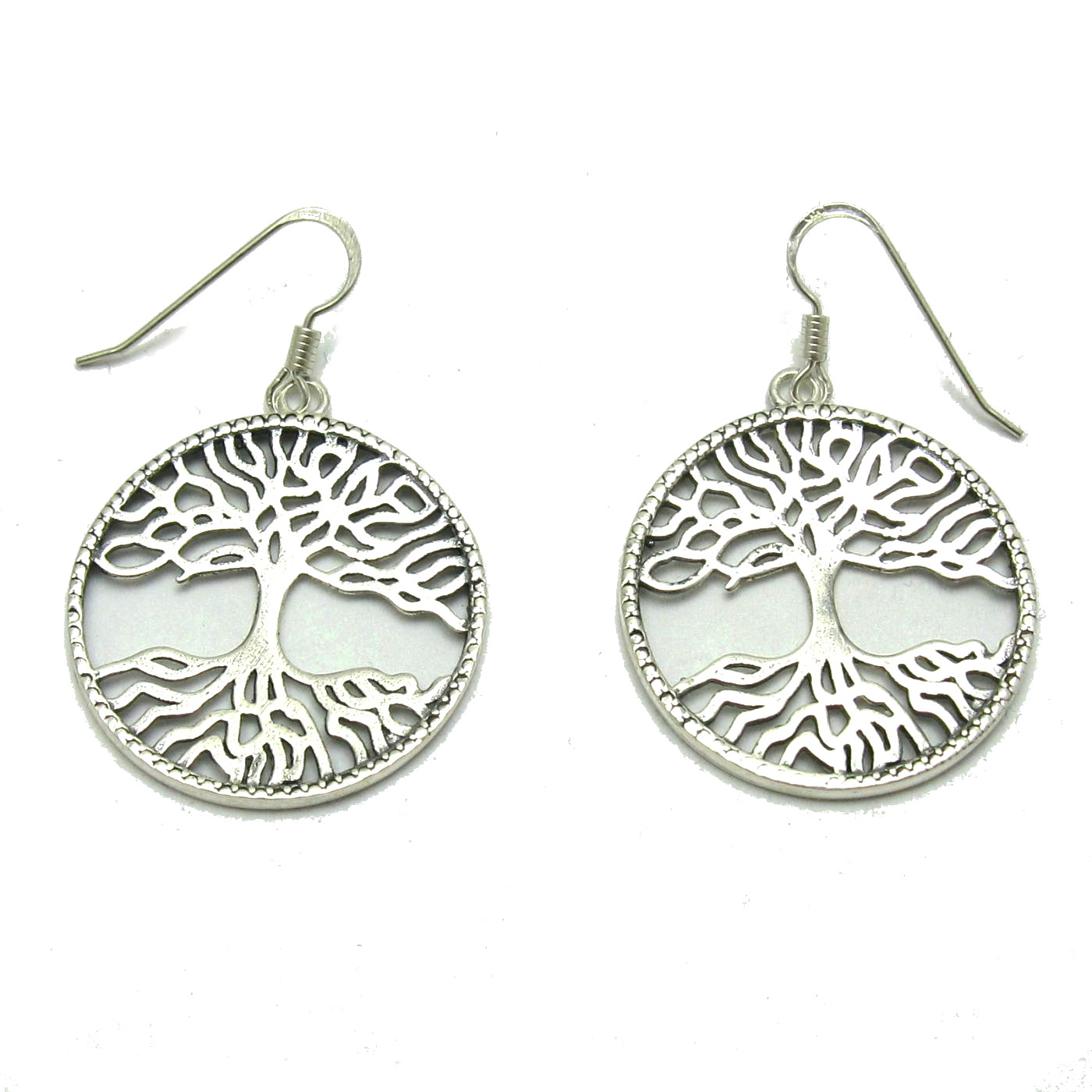 Silver earrings - E000687