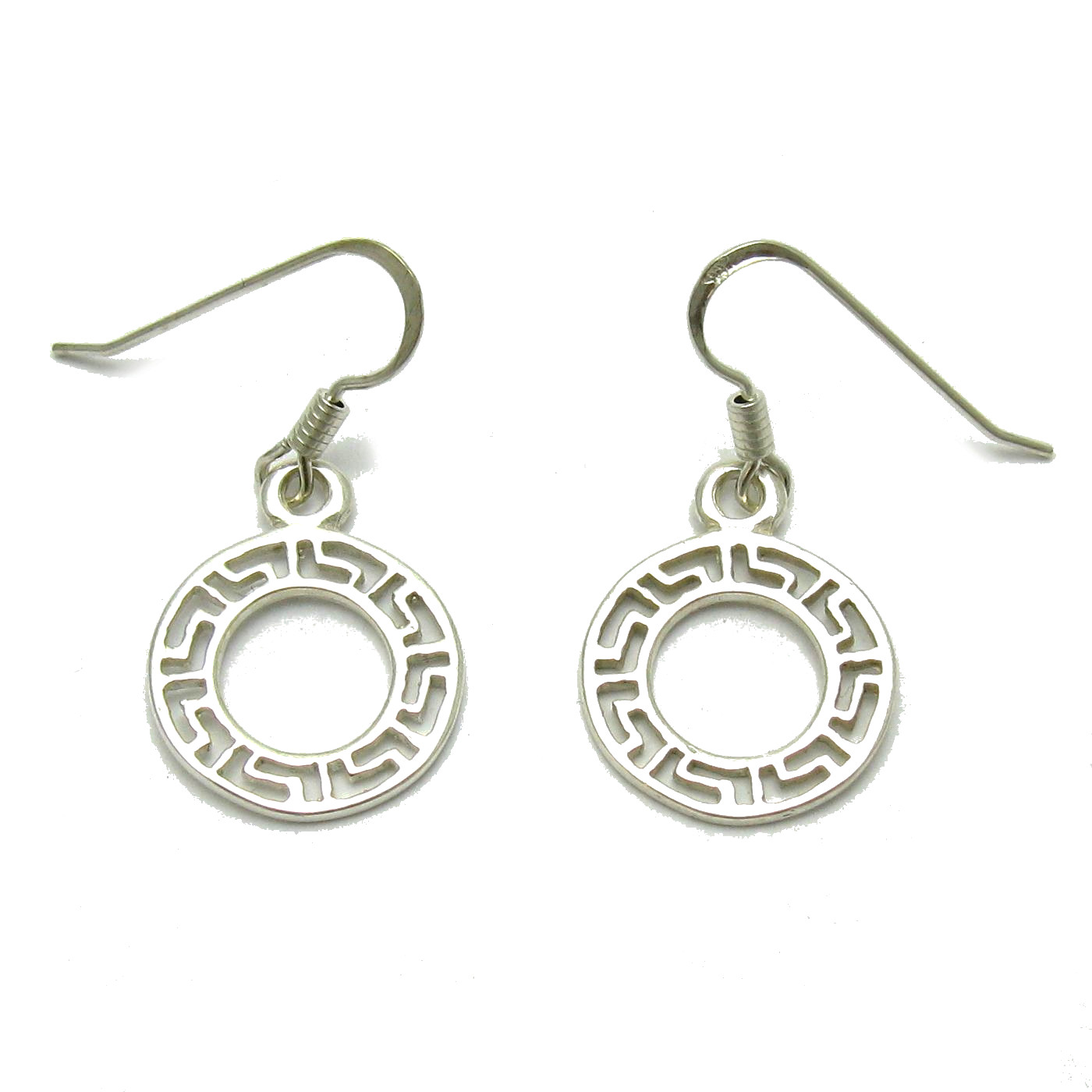 Silver earrings - E000688