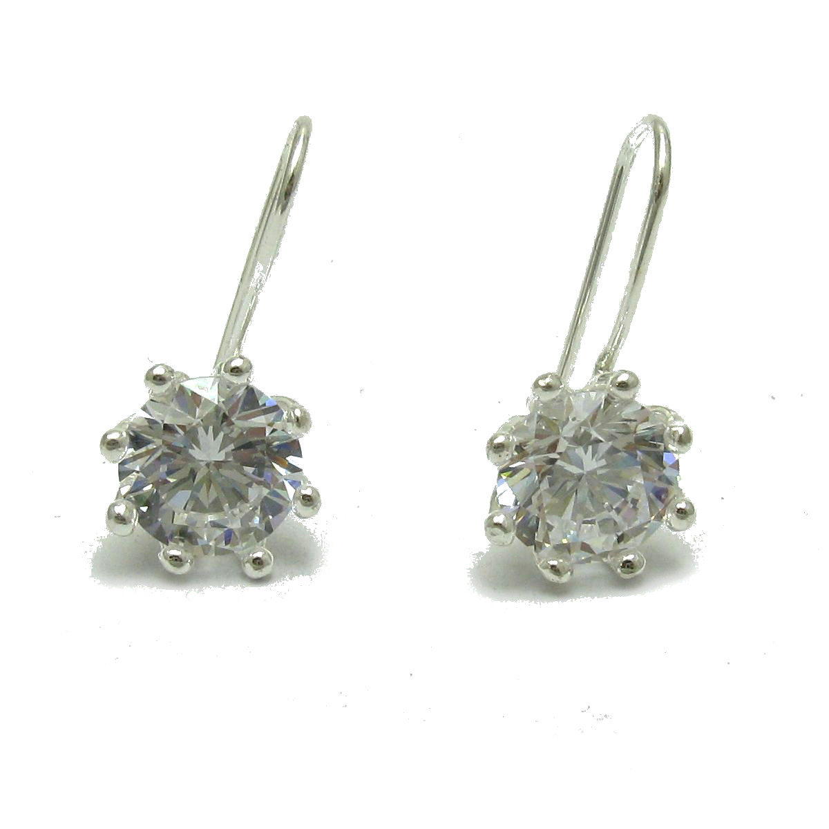 Silver earrings - E000693