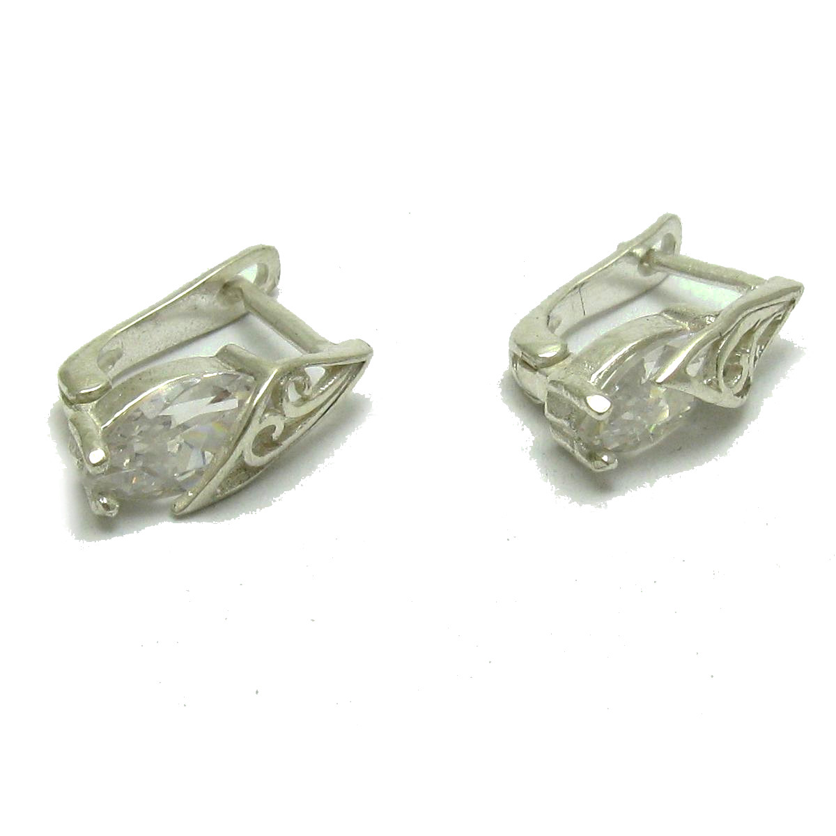 Silver earrings - E000694