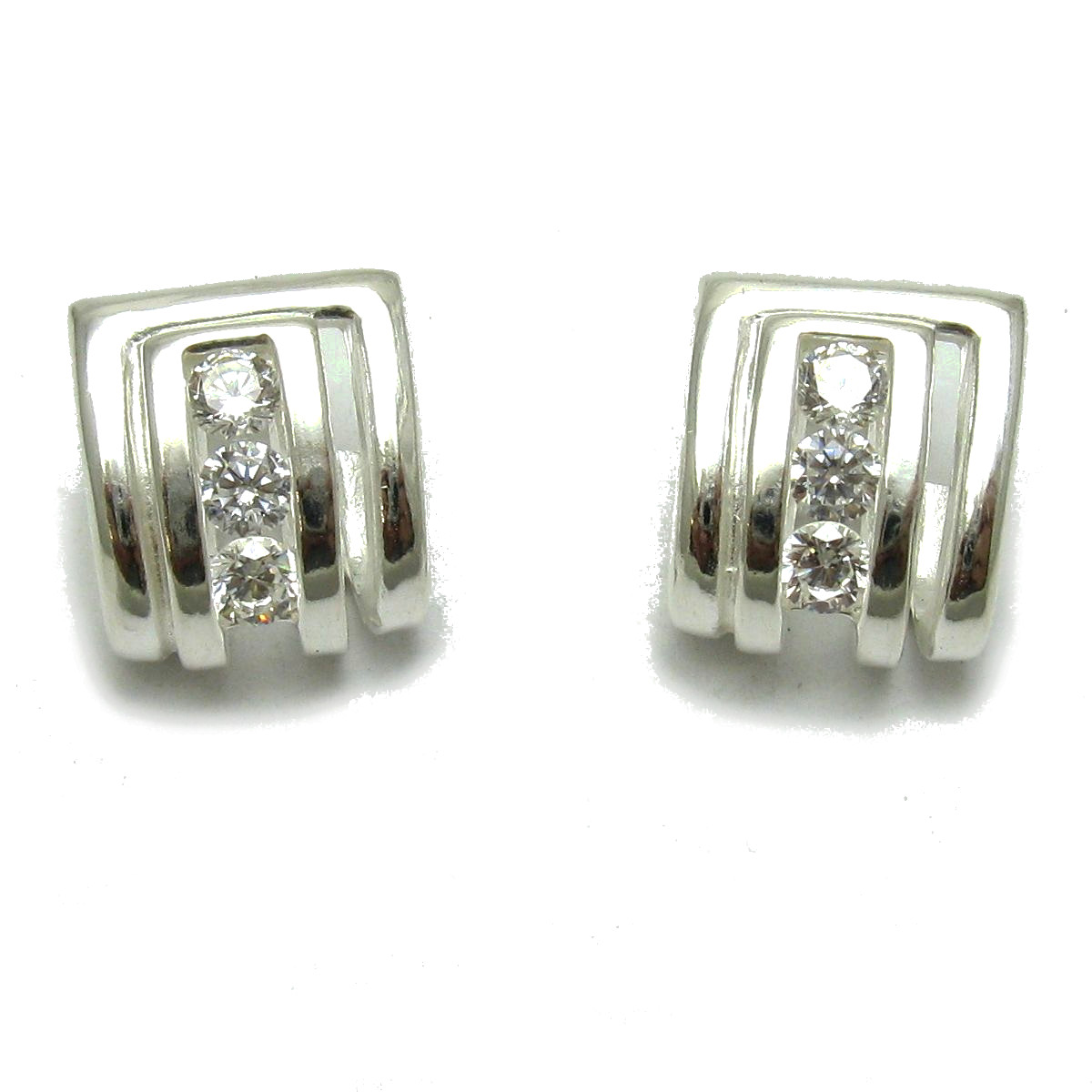 Silver earrings - E000695