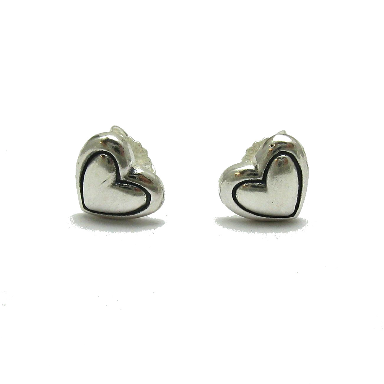 Silver earrings - E000708