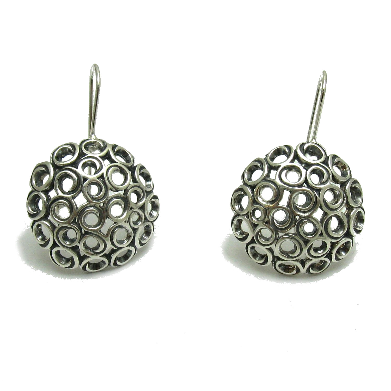 Silver earrings - E000712