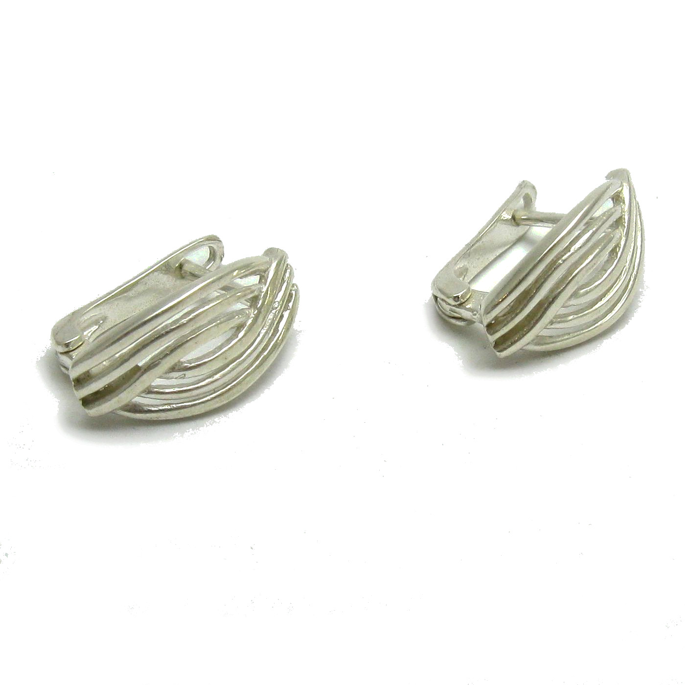 Silver earrings - E000717
