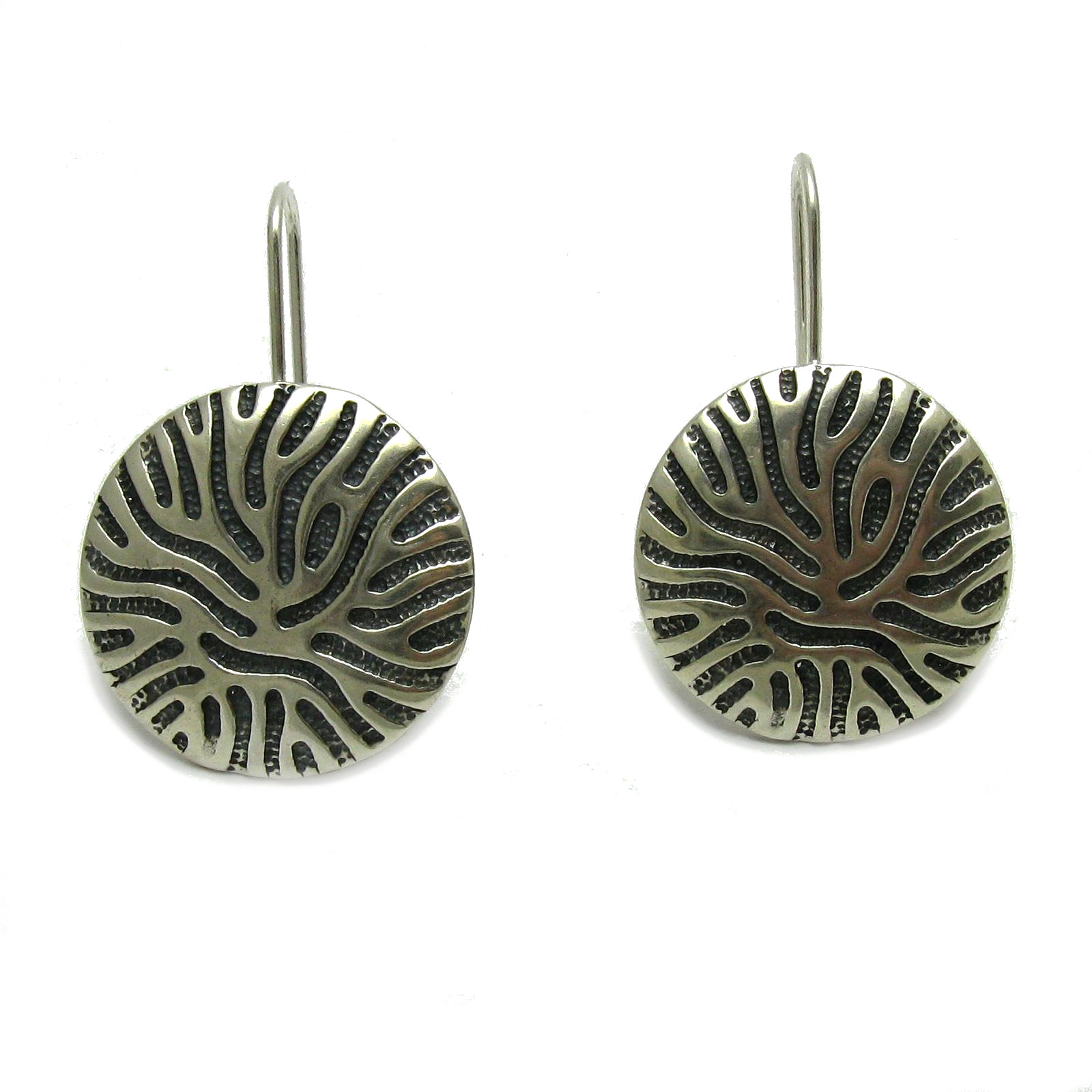 Silver earrings - E000721