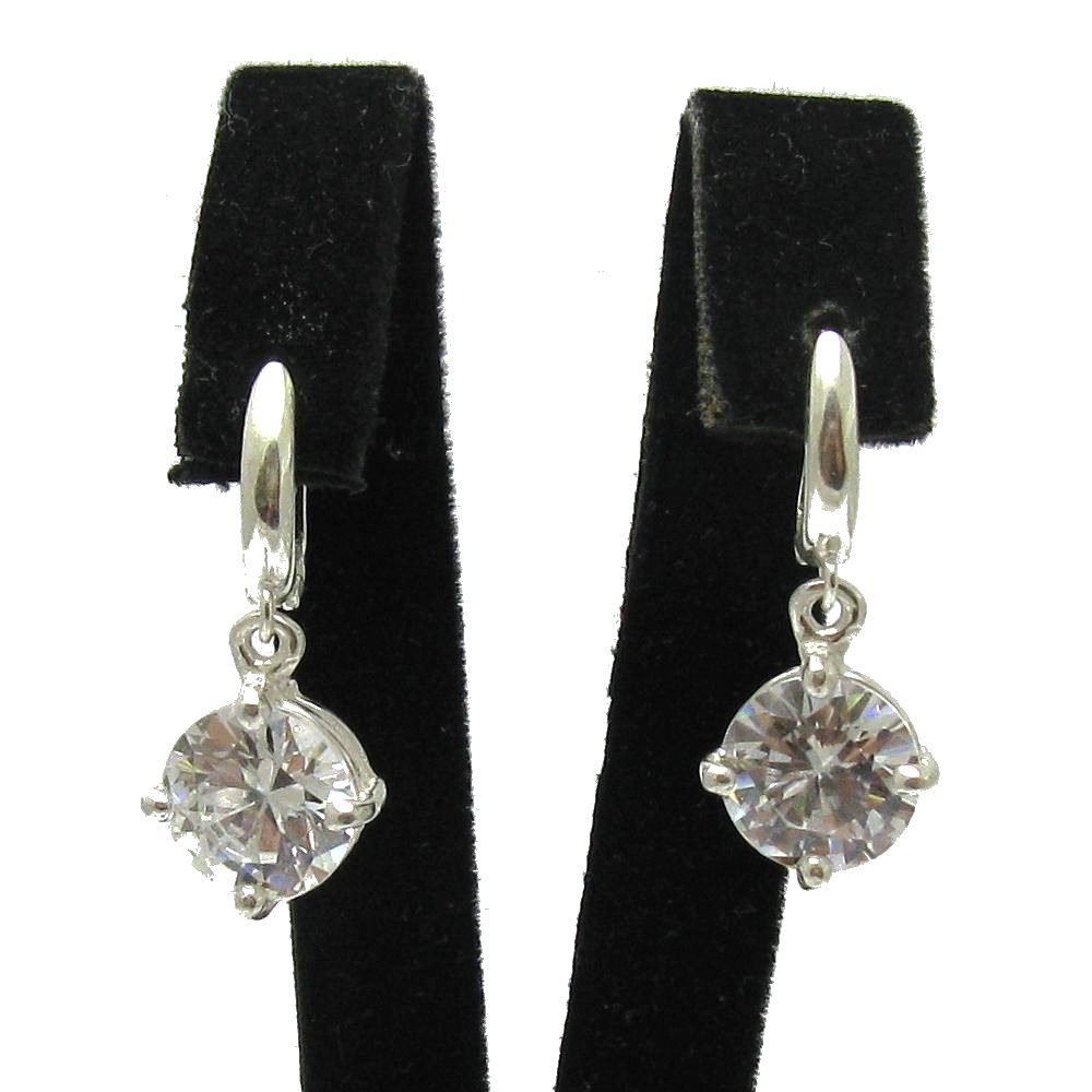 Silver earrings - E000722