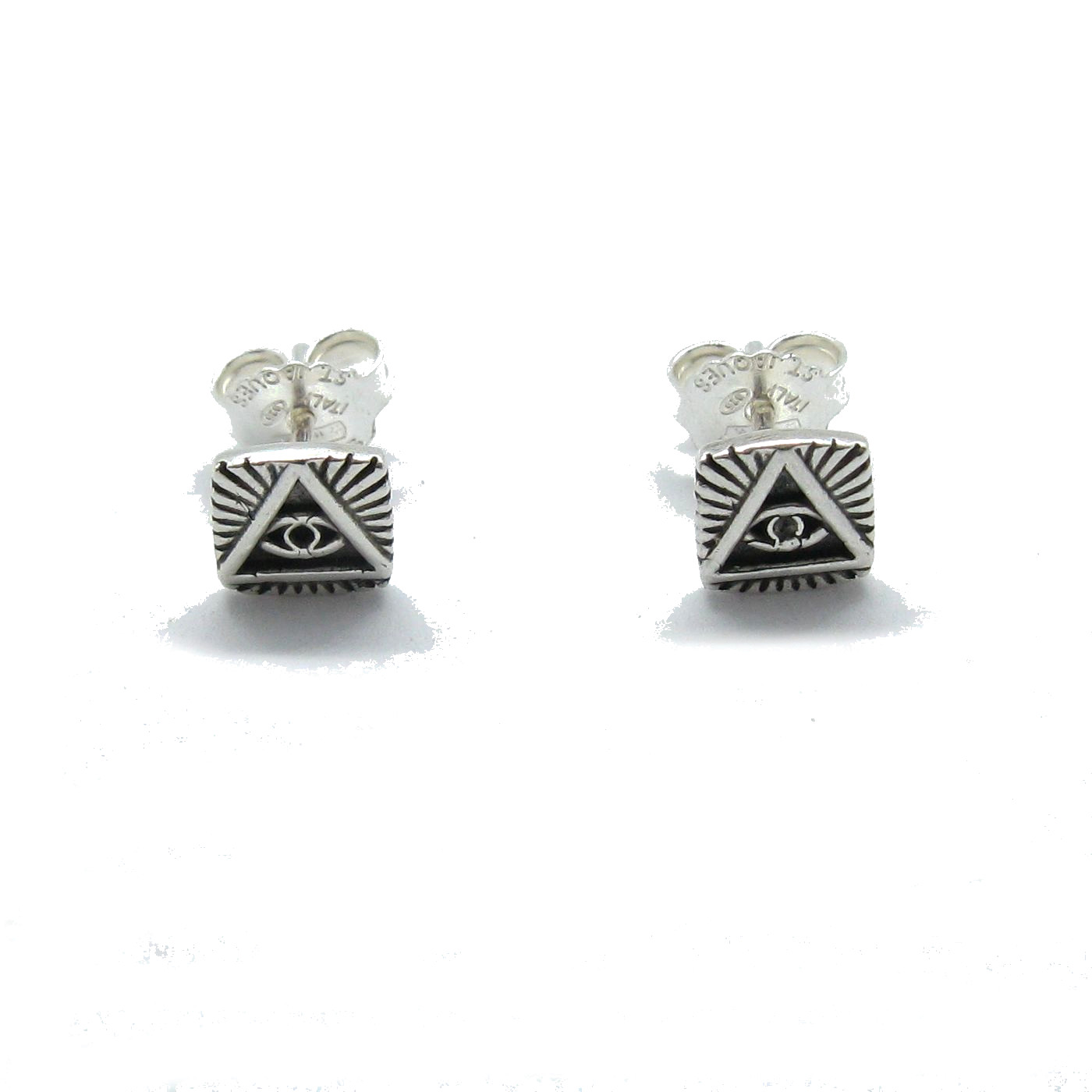 Silver earrings - E000726