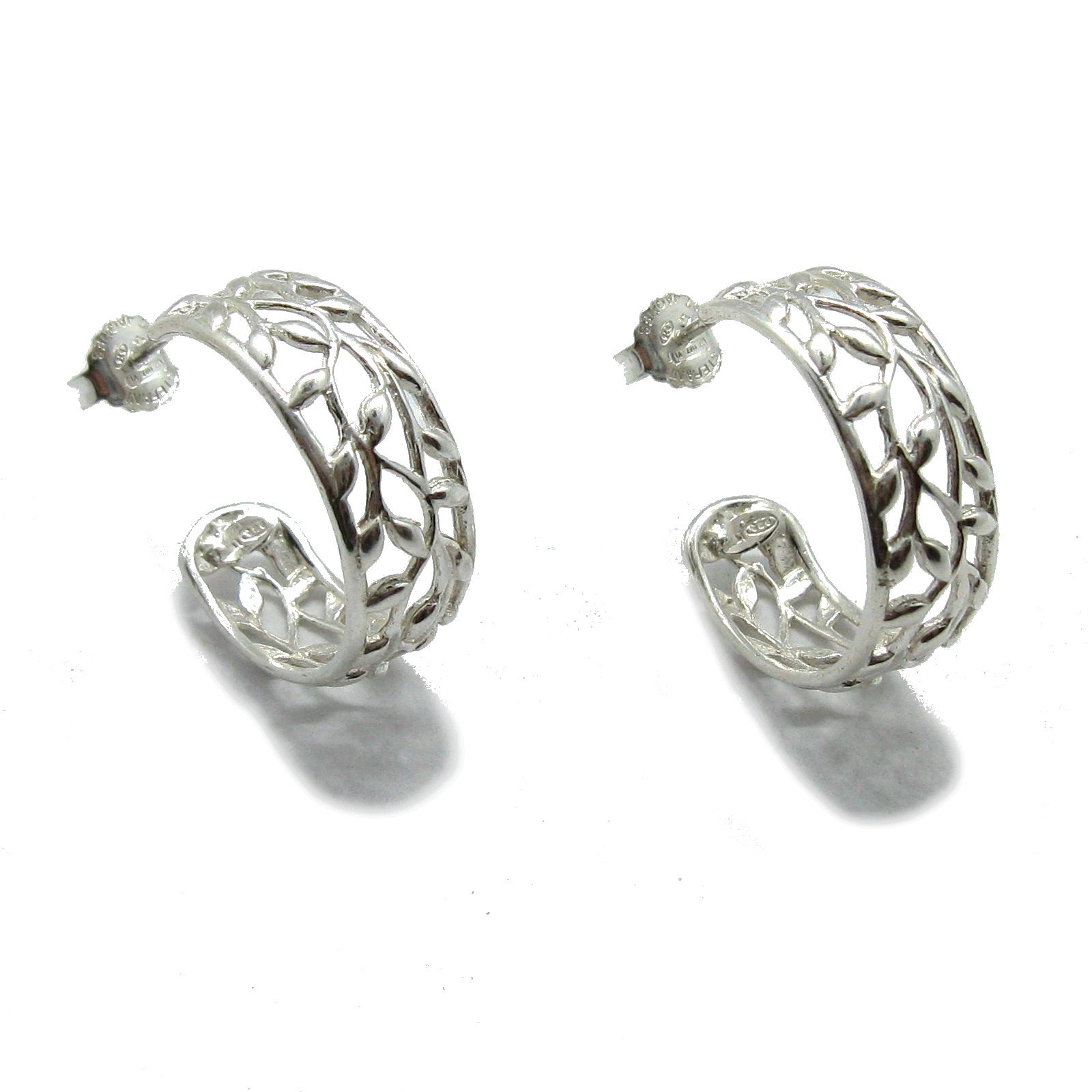 Silver earrings - E000730