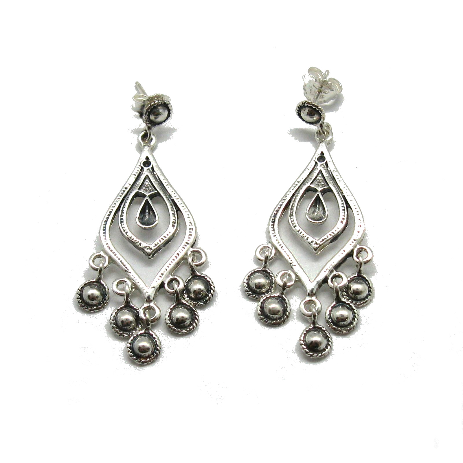 Silver earrings - E000735